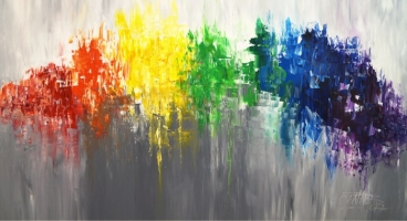 Like A Rainbow L 3 Painting