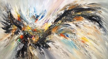 Black And White Nature Wings Xxl 1 Painting