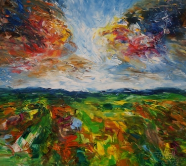 Autumn Landscape Sm 1 Painting