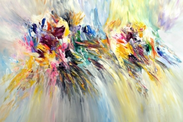 Abstract Interaction xl1 Painting