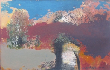 Abstract Landscape 02 Painting