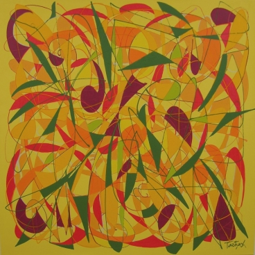 Syncopation Folly Painting