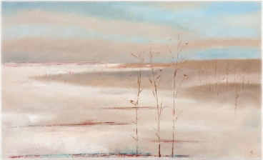 Winter Near The Sea Painting
