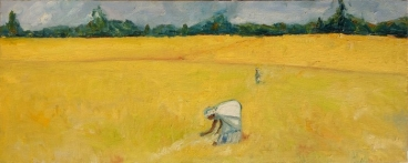 Rice Harvest (2) Painting