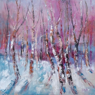 Winter Magic -1 Painting