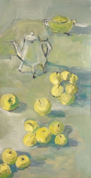 Still Life With Apples - Tea Pot