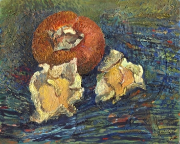 The Persimmon Still Life Painting