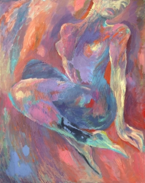 Colorful Nude Painting