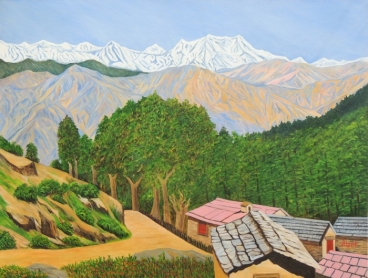 Himalayan Trails Painting