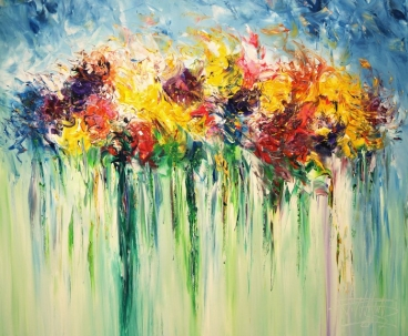 Flower Field SM 1 Painting