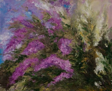Lilacs In May-2 Painting
