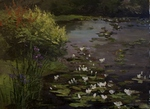 Water-lilies painting for sale