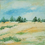 Hill Landscape painting for sale