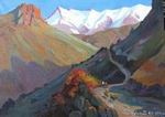 Path in Mountains painting for sale